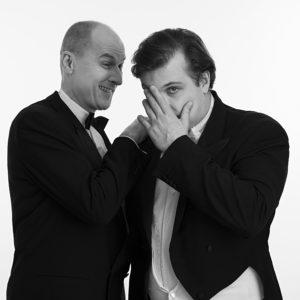 Portraitfoto mit zwei Männern