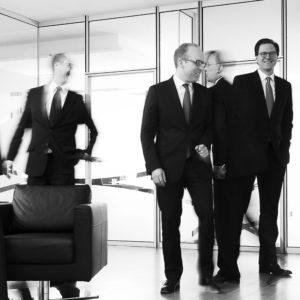 Business-Fotoshooting mit Anwälten in Hamburg