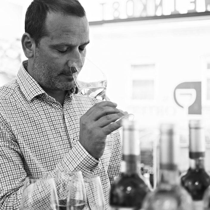 Businessbild mit Weinhändler in Hamburg