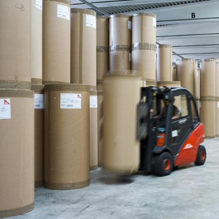 Foto Arbeitssituation Logistik