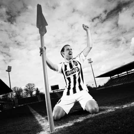 Imagefotografie Fussballspieler