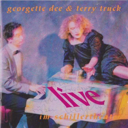 Musikerportrait vom Pianisten Terry Truck und der Sängerin Georgette Dee für das CD-Cover ihres Live-Albums