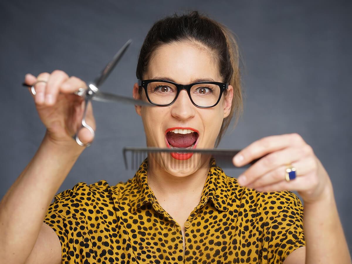 Gute Bilder für die Website: Beispiel Friseur